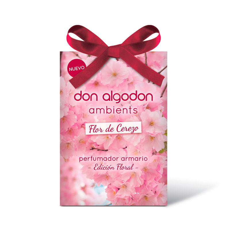 Ambientador de armario Flor de Cerezo Don Algodon Ambients