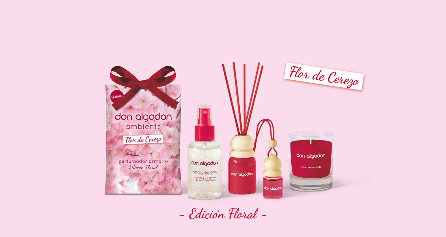Don Algodon Ambients Flor de Cerezo