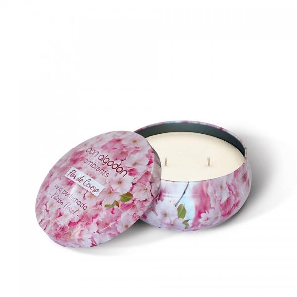 Vela Perfumada en lata Flor de Cerezo Don Algodon