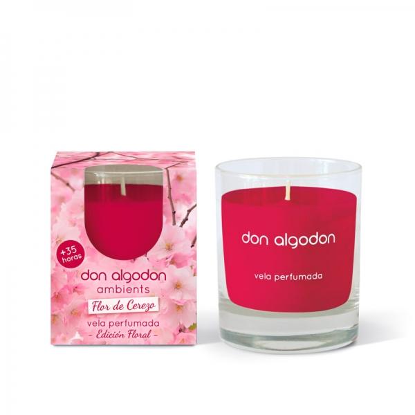 Vela perfumada Flor de Cerezo Don Algodon Ambients